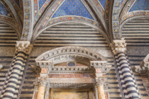 Siena Cathedral Arches and Columns