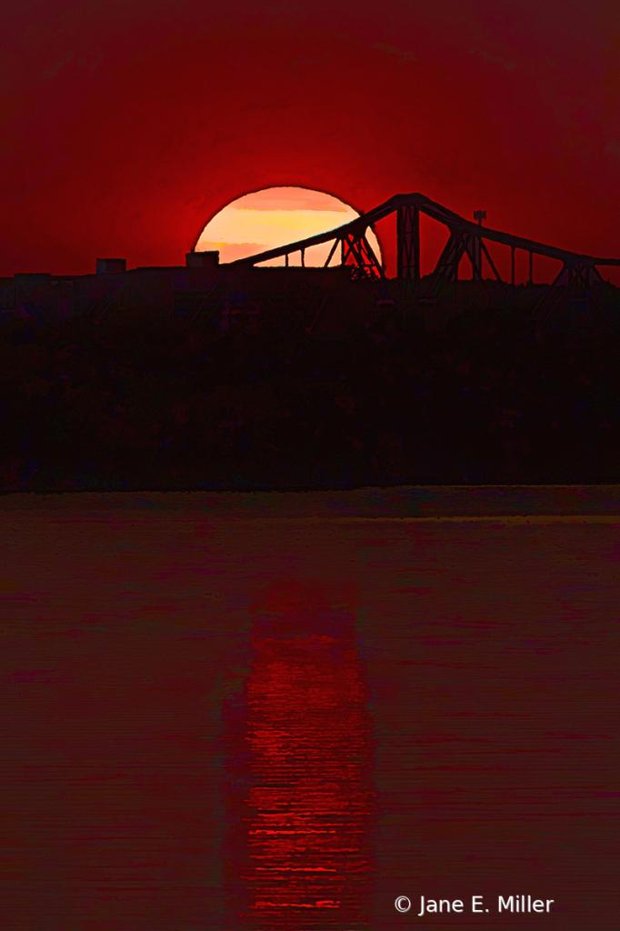 Amazing Peaceful Sunset