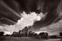 Huge Cloud Over Temple in Bagan
