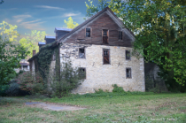 The Baumgardner Mill Manor house...