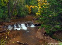 Siskiwit River Falls