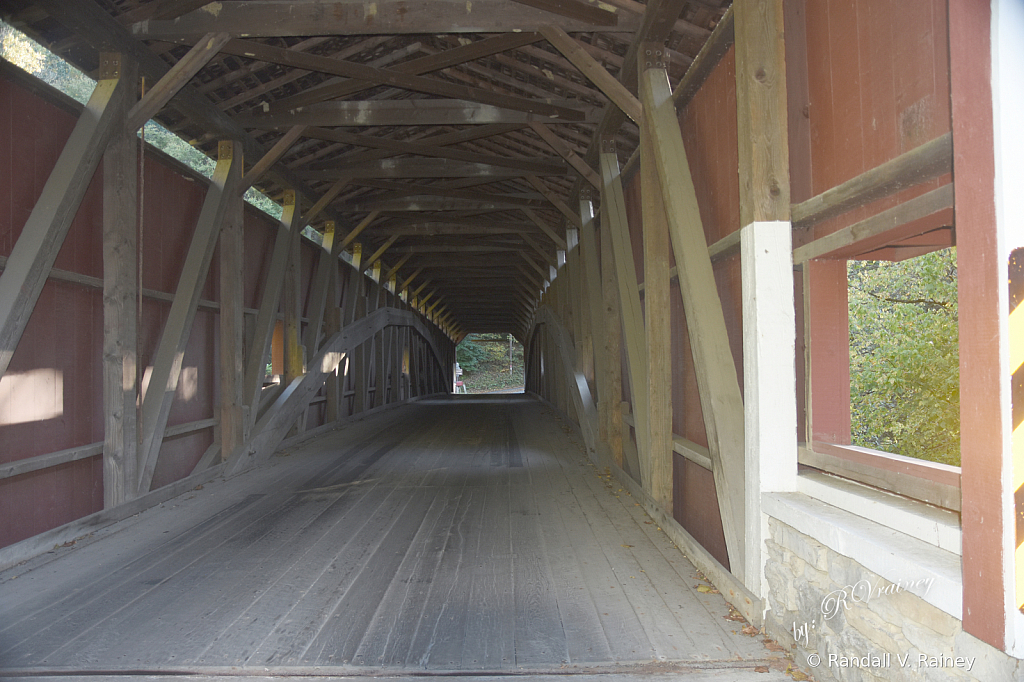 Colemanville Covered Bridge (Inside)