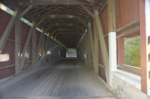 Colemanville Covered Bridge (Inside)