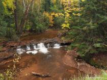 Siskiwit River Falls 2