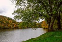 Autumn at Hungary Mother Lake