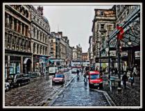 Down Town Glasgow, Scotland
