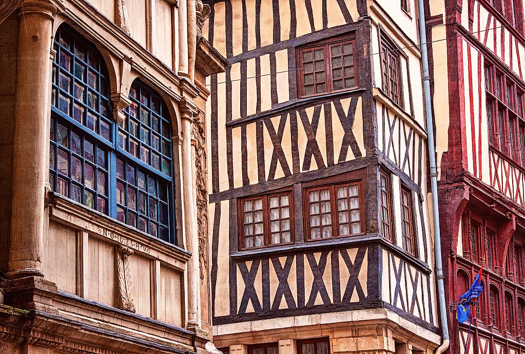 Buildings of Rouen
