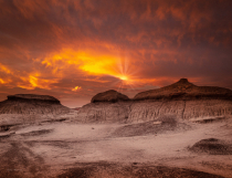 Bisti/De-Na-Zin Wilderness Sunset