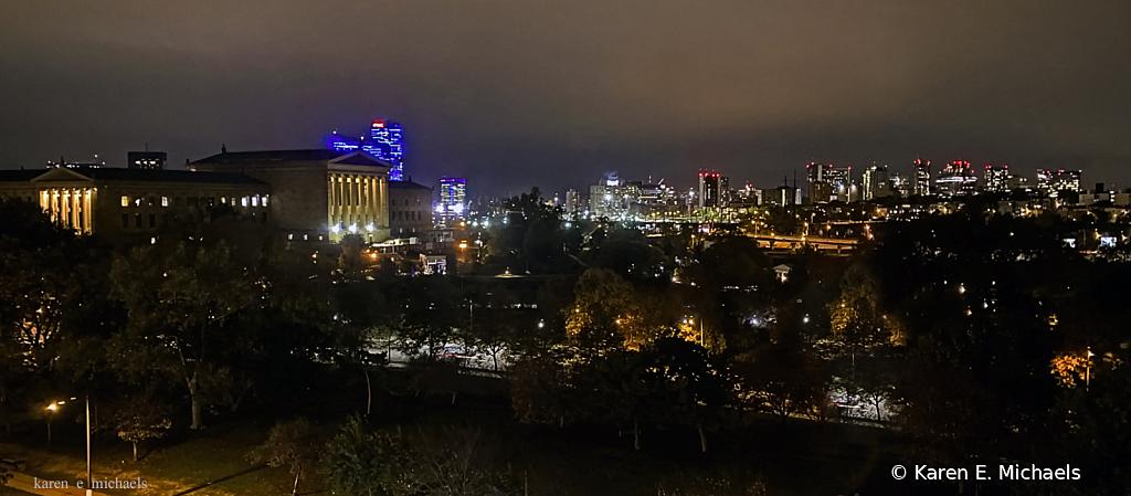 Philadelphia Museum of Art at Night