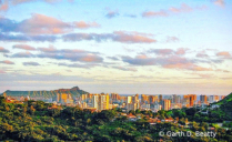 Honolulu From Pacific Heights