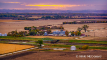 Missouri River Valley from Murray Hill Overlo