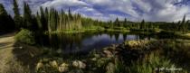 Colorado mountain pond