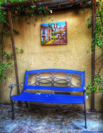 ~ ~ THE BLUE CHAIR ~ ~