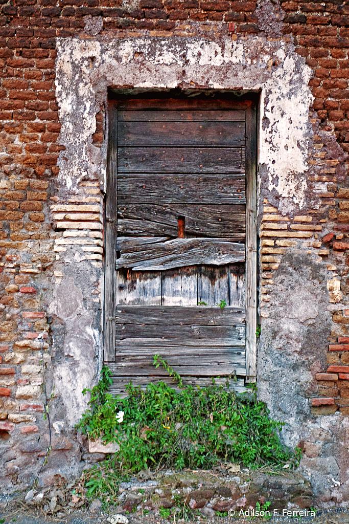 Rome abandoned House