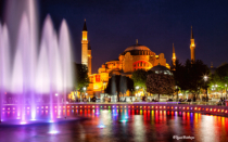 Hagia Sophia and Musical Fountain