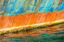 hull meets water