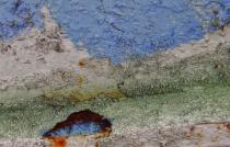 Peeling Paint Abstract
