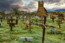 Cemetery At Isleta Pueblo