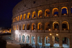 Colosseum at nigh...