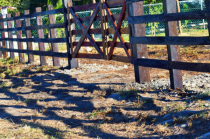 A FENCE AND ITS SHADOW
