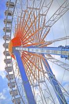 The Wheel Vertically.