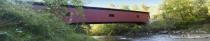 Colemanville Covered Bridge Pano