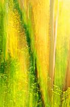 Flowing foliage.