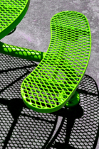 Neon Green Bench
