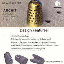 ArchIT Subtalar Arthroereisis Implant - Integ