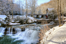 Spring Snow at Glade Creek