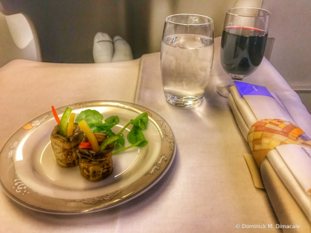 ~ ~ BUSINESS CLASS MEAL ~ ~