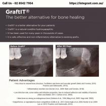 GraftIT - Better Alternative For Bone Healing