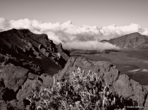 Clouds Rolling into Haleakala Crater
