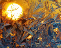 Sunrise and Ice Crystals