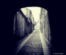 The Old Irish Alley in Kilkenny