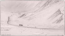 Winter Rest on the Dalton Highway