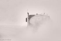 Trucking through the Snow