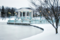 Bandstand in Winter