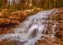 Lower Provo River Falls
