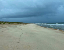 Alone on the Outer Banks