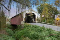 Lime Valley Covered Bridge Entrance