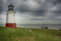 Solitude at the Vermilion Lighthouse