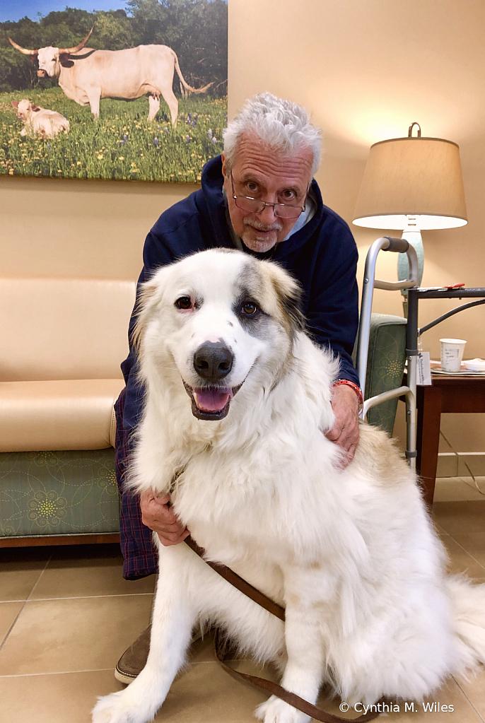 Oliver Visits Pop in the Hospital