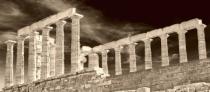 Poseidon Temple Columns.