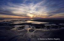 Sunset at Negative Tide
