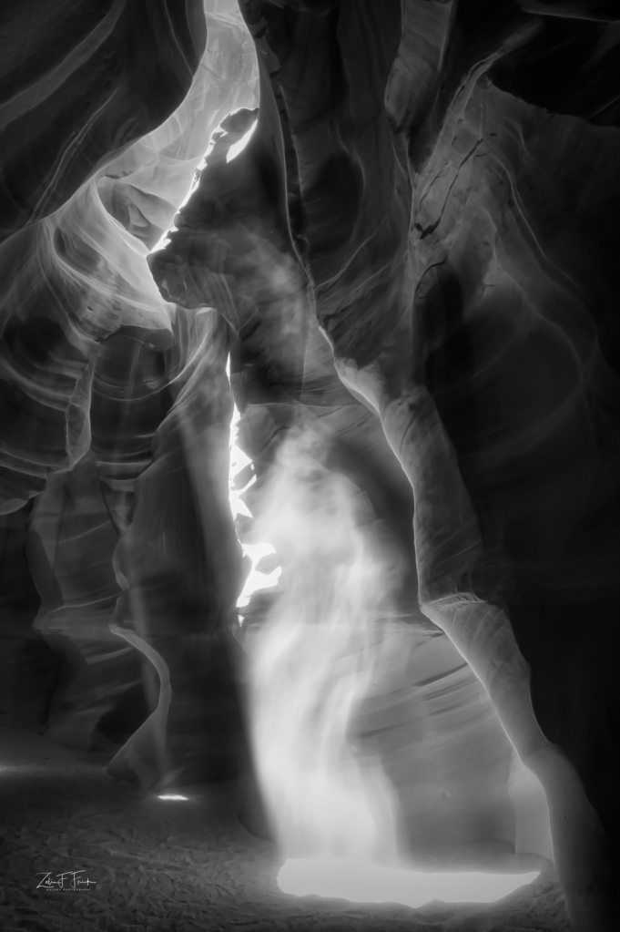 The Spirits (3 faces) of Upper Antelope Canyon