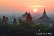 Sunrise of Bagan
