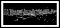 Honolulu in Black and White