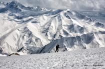 Skier in Gulmarg