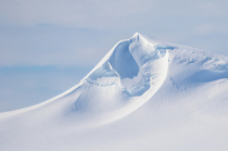 Windblown Antarctic Peak